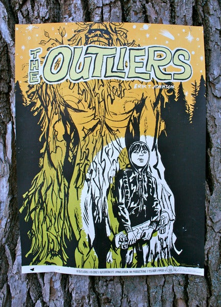 Image of The Outliers - Silkscreen Poster