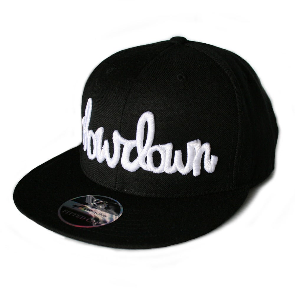 Image of Signature Fitted Cap White