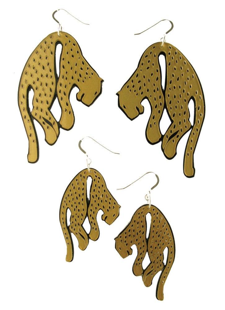 """Image of """"Sleeping Beast"""" Earrings"""