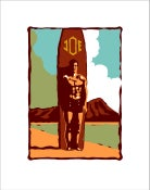 "Image of ""JOE"" Serigraph"