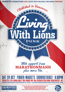 Image of Living With Lions Ticket