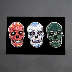 Image of Black Forest Día de los Muertos Poster