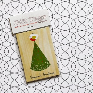 Image of Doily Christmas Gift Tags