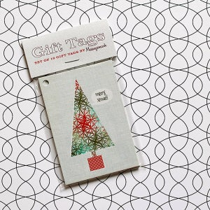 Image of Retro Christmas Gift Tags