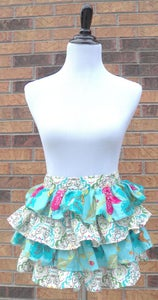 Image of Whimsical Ruffle Half Apron