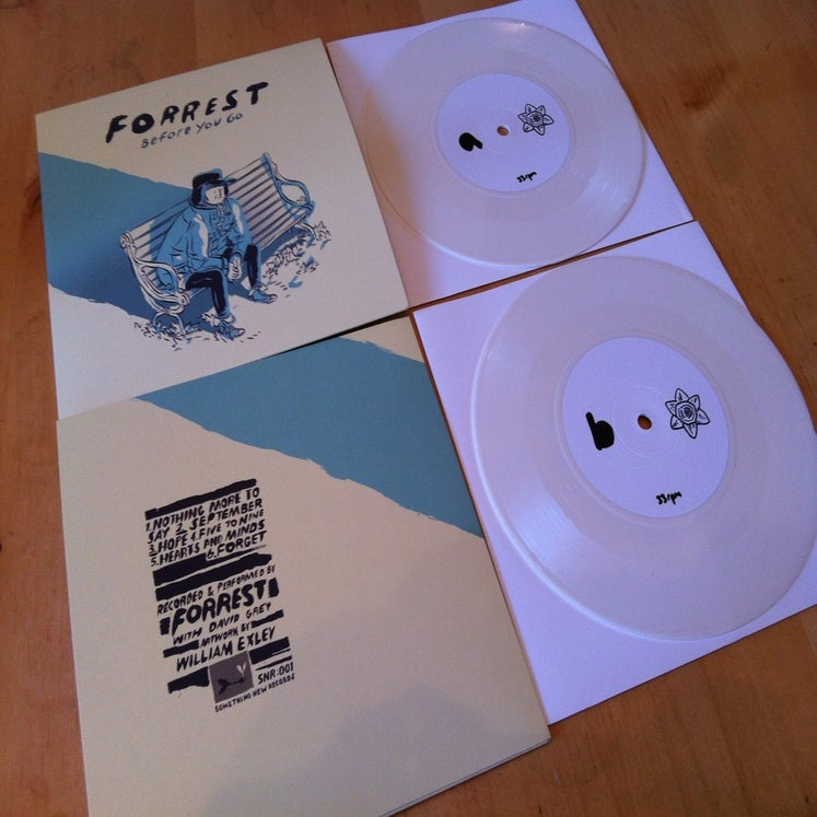 Image of Forrest - Before You Go 7 inch record.