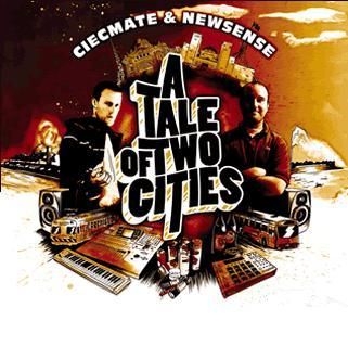 """Image of CIECMATE & NEWSENSE """"A Tale Of Two Cities"""" CD"""