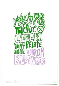 Image of Horror Business Print