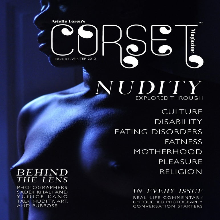 Image of Corset Magazine, Inaugural Issue, Nudity (Digital)