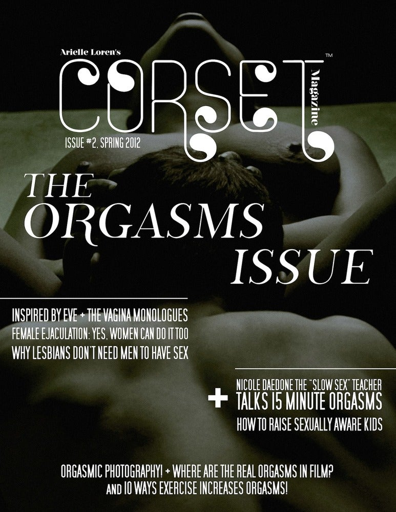 Image of Corset Magazine, Issue 2, Orgasms (Digital)