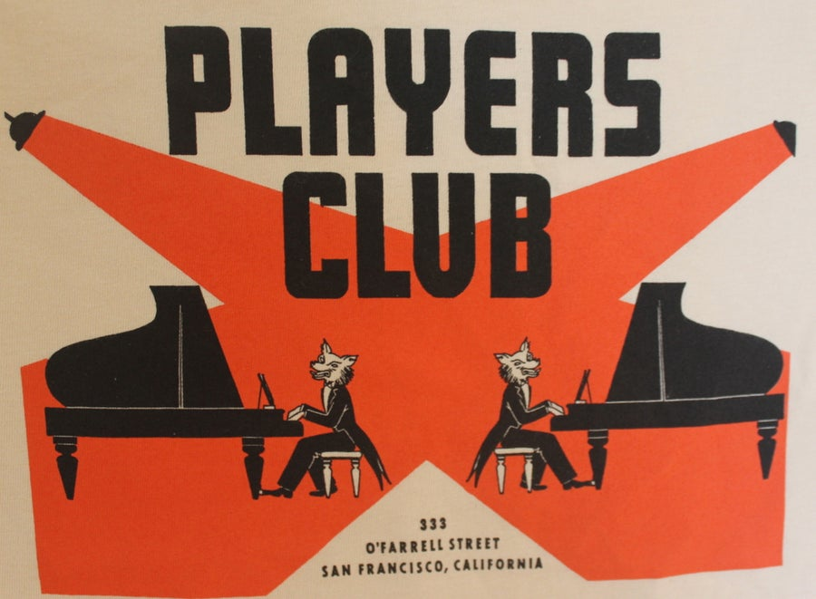 Image of Players Club Vintage T-Shirt: Men's