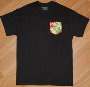 Image of Red Hawaiian Pocket Tee