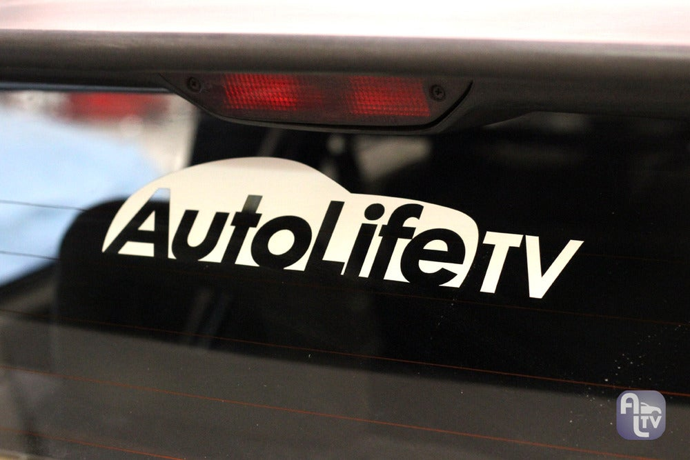 "Image of AutoLife TV ""Silhouette"" Sticker"