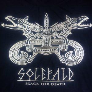 Image of Solefald - Black for Death T-shirt
