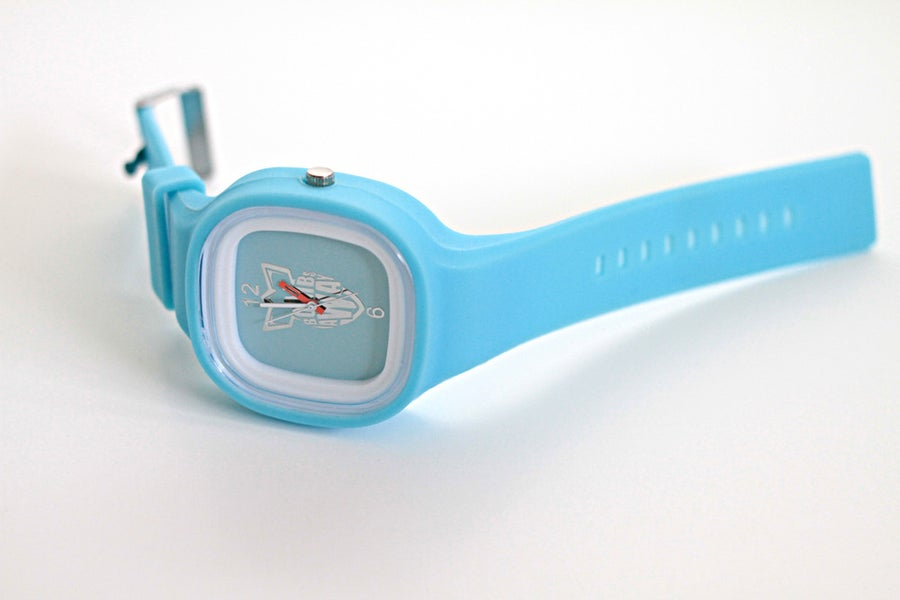 Image of BOMB AWAY WATCH - LIGHT BLUE