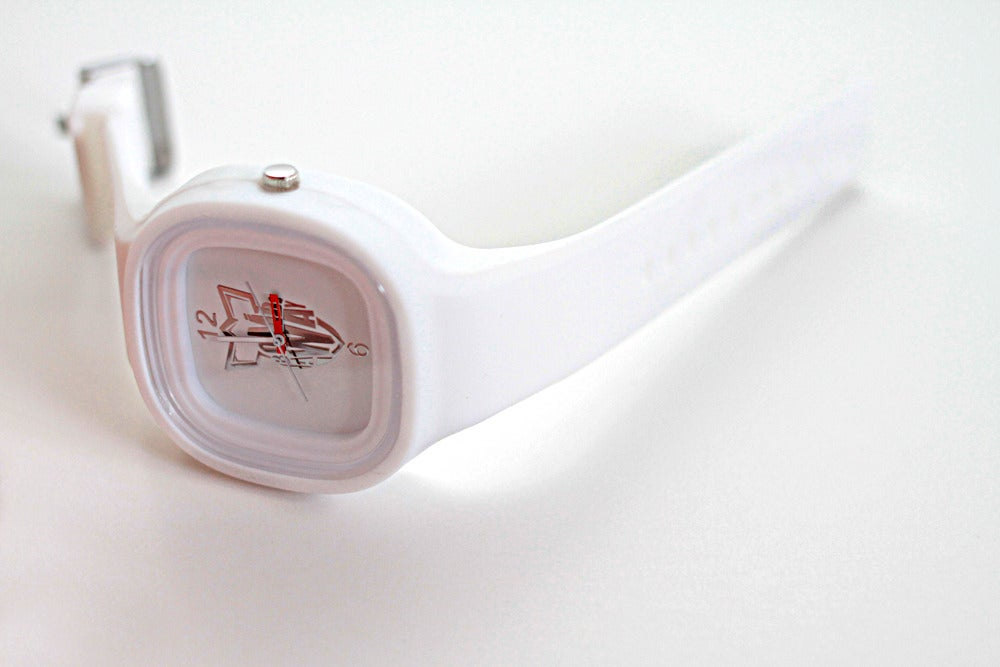Image of BOMB AWAY WATCH - WHITE!