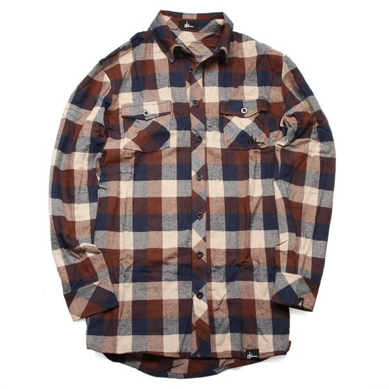 Image of Frontier Button-Down Flannel Shirts