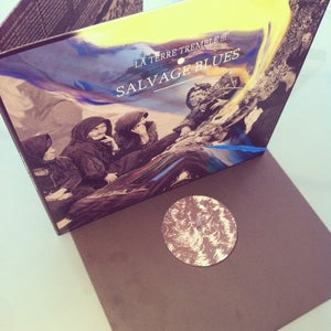 Image of LA TERRE TREMBLE !!! - SALVAGE BLUES (LP)