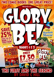 Image of Glory Be! Books 1 and 2 – The First and the Second (both books signed, book 2 numbered)