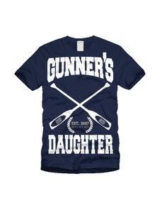 Image of Gunners Daughter Row Team Navy Blue T-Shirt