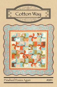 Image of Pinwheel Posies PDF Pattern #884