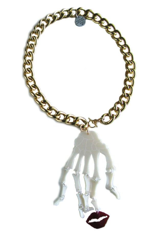 "Image of ""Kiss of Death"" Necklace (BOLD)"