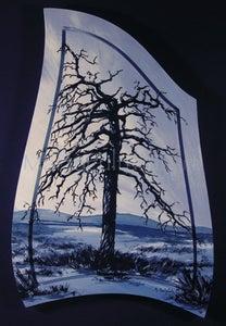 Image of Tree on Hat Creek Road II Original Painting