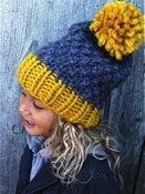 "Image of Bonnet ""Happy funny"", alpaga&laine"