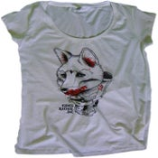 Image of girlie tunic shirt fox/thanksgiving massacre