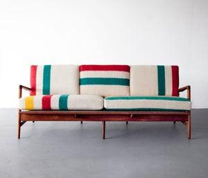 Image of Hudson Bay Sofa, Ib Kofod-Larsen Frame