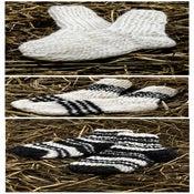 Image of Handmade wool socks for kids.