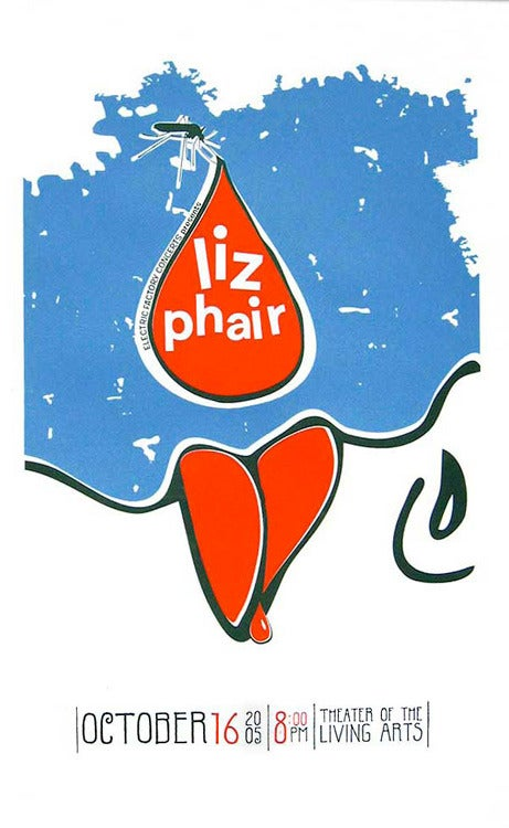 Image of Liz Phair Poster - ALMOST sold out