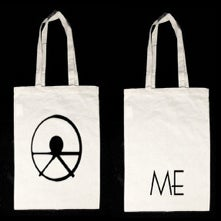 Image of ME logo tote bag (natural)