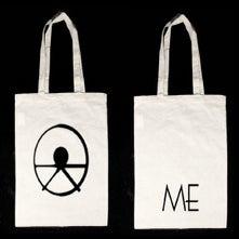 Image of ME logo tote bag (natural)