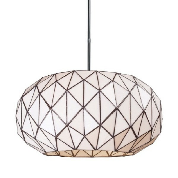 Image of Modern Tiffany Drum Pendant