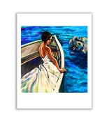 "Image of Nile Boat Ride - 12"" x 12"" high quality print"