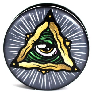 Image of All Seeing Eye - Plug / Gauge