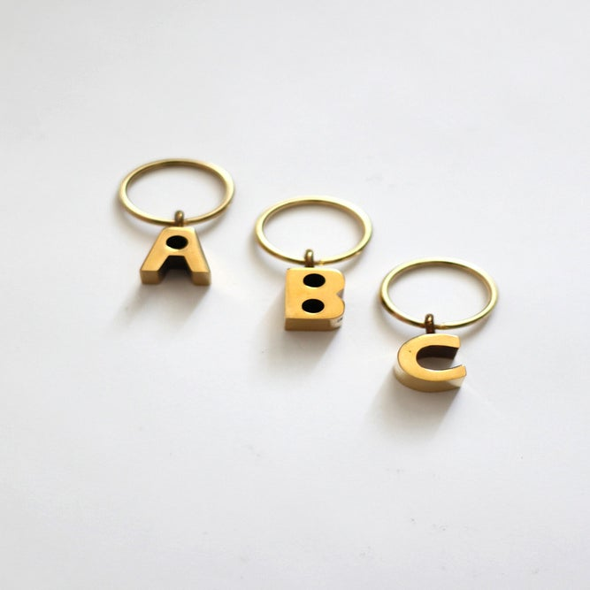 Image of Alphabet Key Chain