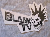 Image of BlankTV Logo Sticker