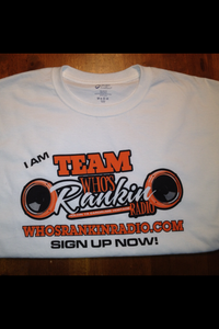 Image of I Am Team Who's Rankin Radio Tee