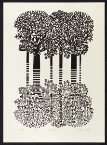 Image of Trees 1 - Trees Lithograph