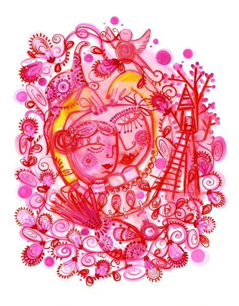 Image of I Heart You Print