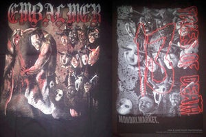 Image of EMBALMER '13 faces of death' shirt