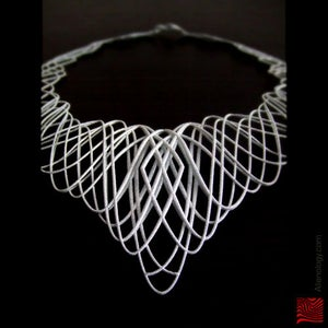 Image of Guilloche Necklace