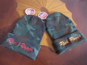 Image of Rich Raggs Death of Camo Camo/Orange Beanie