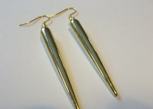 Image of Gold Spiked Earrings