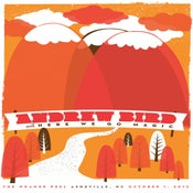 Image of Andrew Bird in Asheville poster