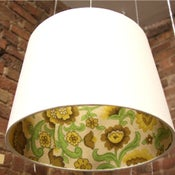 "Image of ""Inside-Out"" Mid-Century Retro Lampshades"