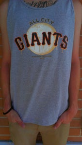 Image of All City Giants Tank (Grey)