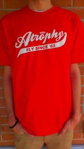 Image of Baseball Script Tee (Red)